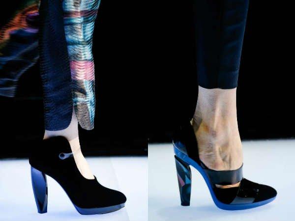 Модные туфли осень-зима 2015-2016 Giorgio Armani