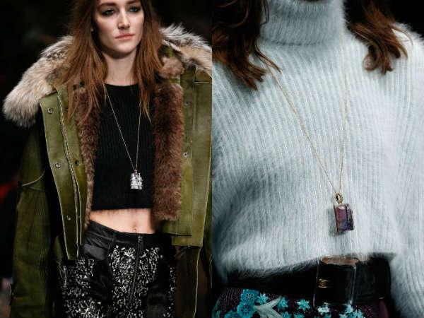 Модные кулоны осень-зима 2015-2016