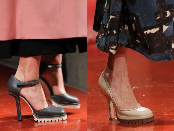 Модные туфли осень-зима 2015-2016 расцветка
