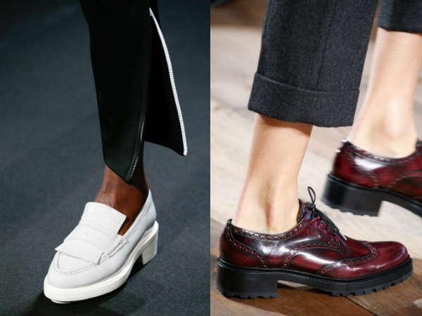Модные туфли в мужском стиле осень-зима 2015-2016