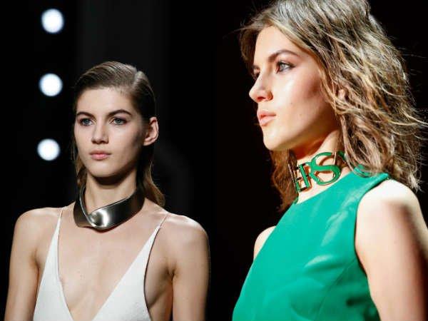 Модные украшения для шеи осень-зима 2015-2016 Narciso-Rodrigues-Versace