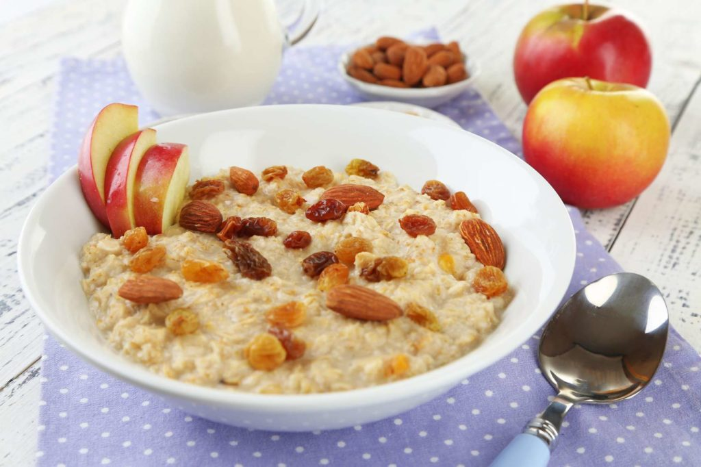 Диетический завтрак овсяная каша